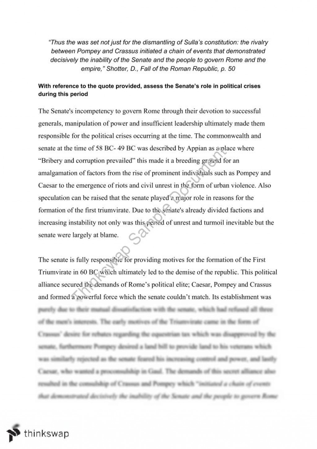 001 Essay Example Fall Of Rome 98335 Assessment  Senate Fadded41 Singular Outline PromptLarge