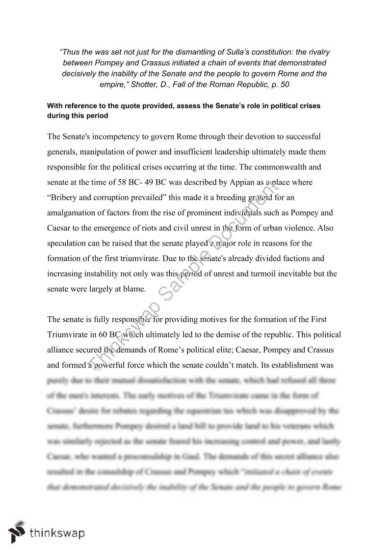 001 Essay Example Fall Of Rome 98335 Assessment  Senate Fadded41 Singular Outline PromptFull