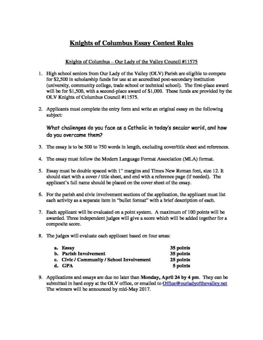 001 Essay Example From Failure To Promise Contest K Of Scholarship Rules And Application Unique Large