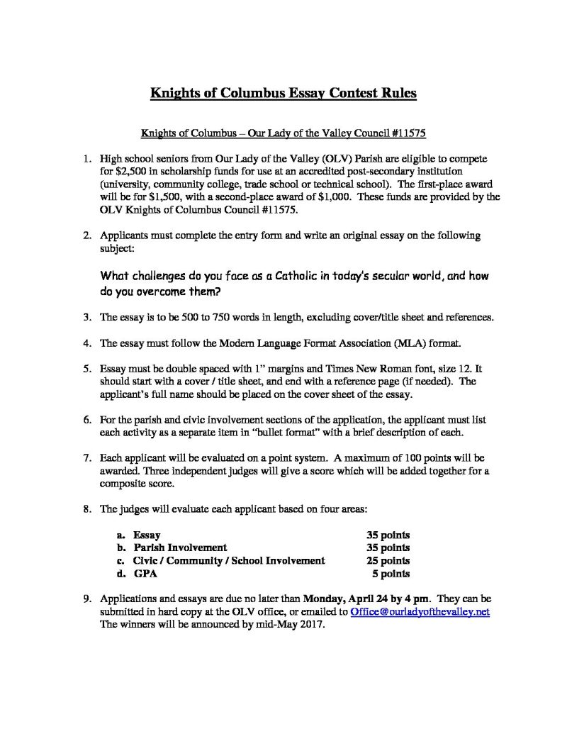001 Essay Example From Failure To Promise Contest K Of Scholarship Rules And Application Unique Full