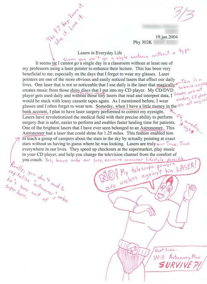 001 Essay Example Funny Essays 3 1439807312 Stupendous Topics Written By Students For College 728