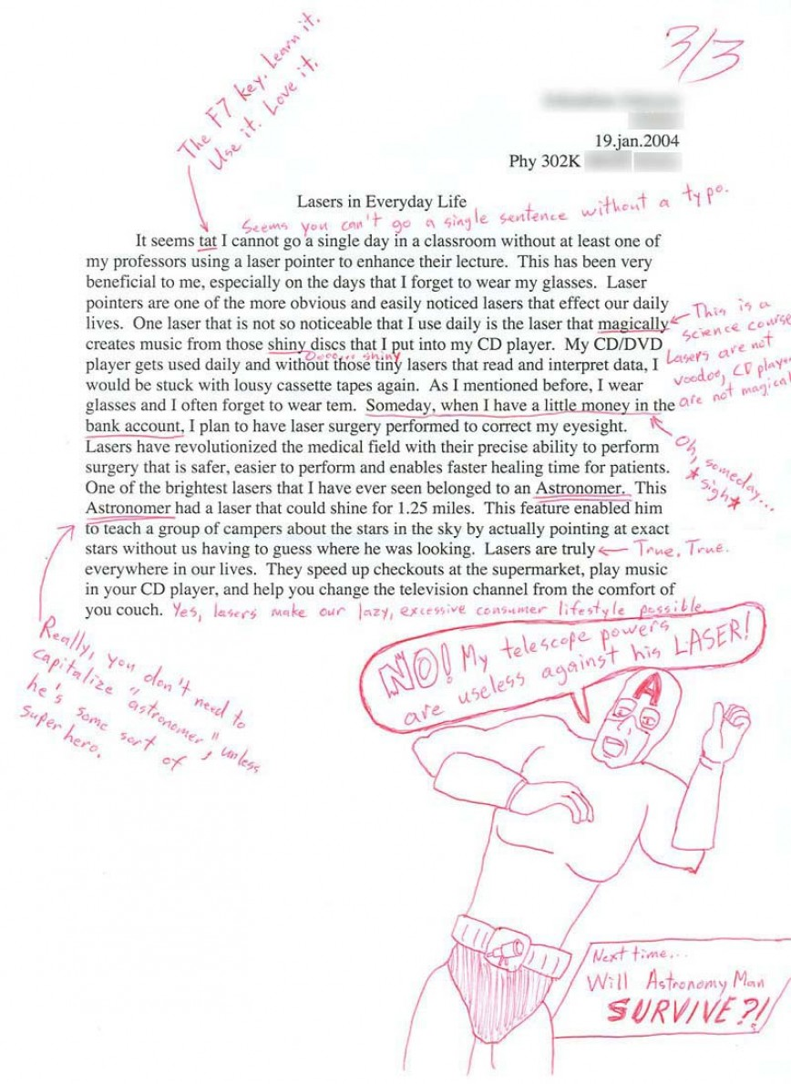 001 Essay Example Funny Essays 3 1439807312 Stupendous Topics Written By Students For College 868