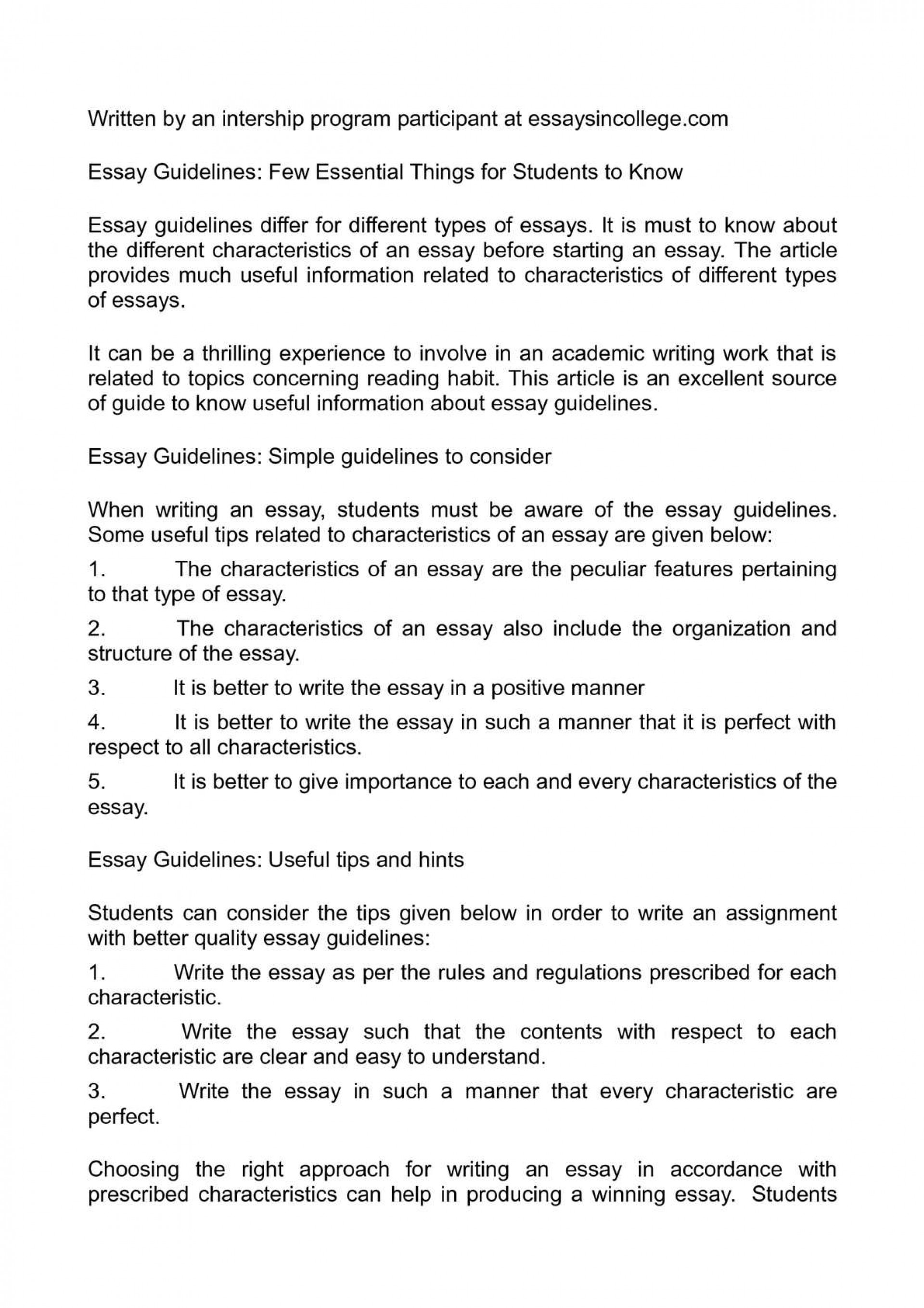 001 Essay Example Guidelines Astounding Descriptive Pdf Expository Format For High School Middle 1920