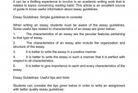 001 Essay Example Guidelines Astounding Descriptive Pdf Expository Format For High School Middle