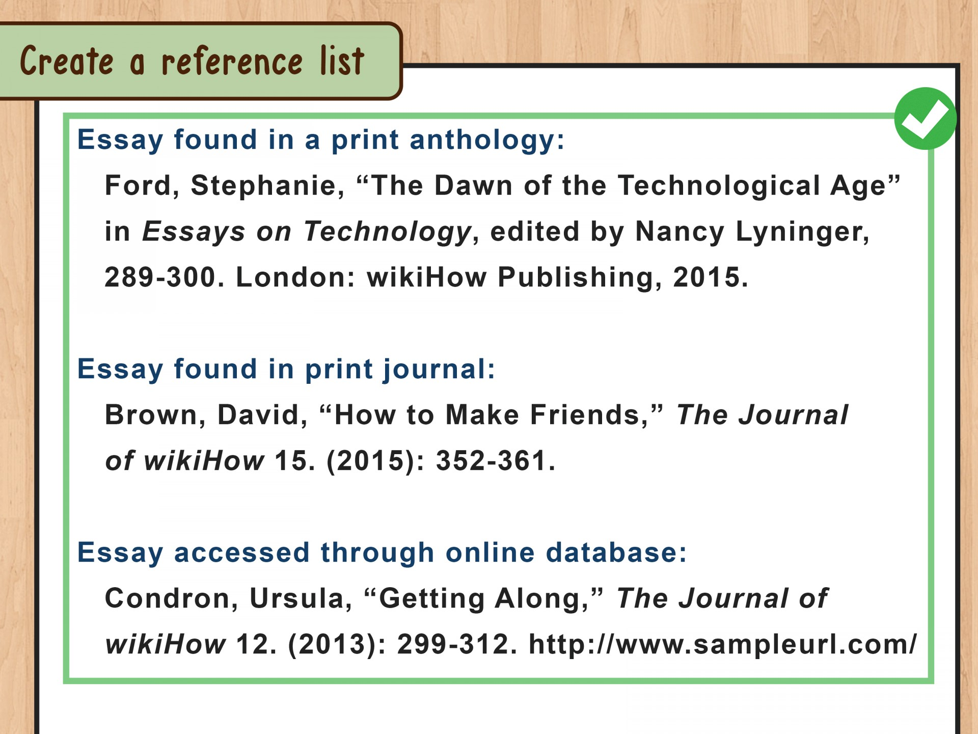 how to cite an article