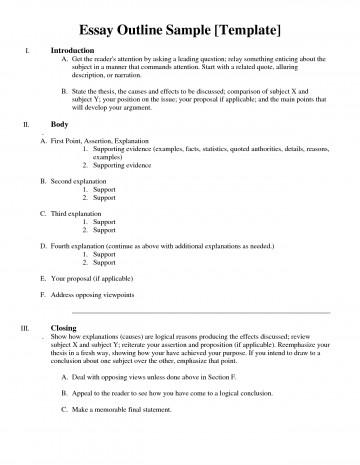 001 Essay Example How To Do An Outline Astounding For Write A Formal Argumentative Create Persuasive Make Informative 360