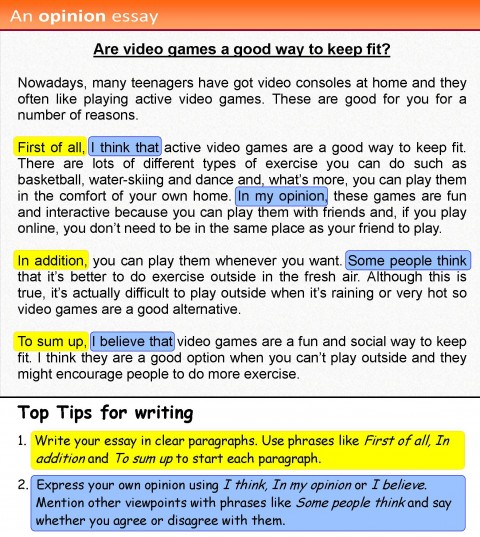 001 Essay Example How To Write An Opinion 4 Unbelievable 3rd Grade College 480