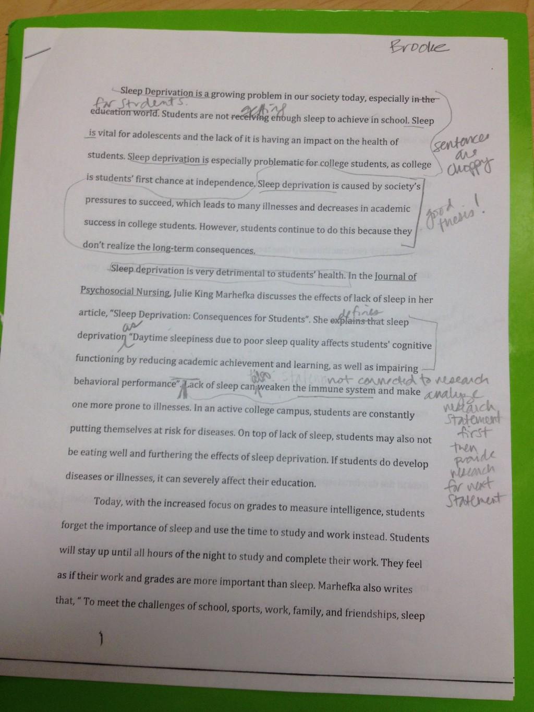 001 Essay Example Image Importance Of Breathtaking Sleep Pdf Spm Speech Large