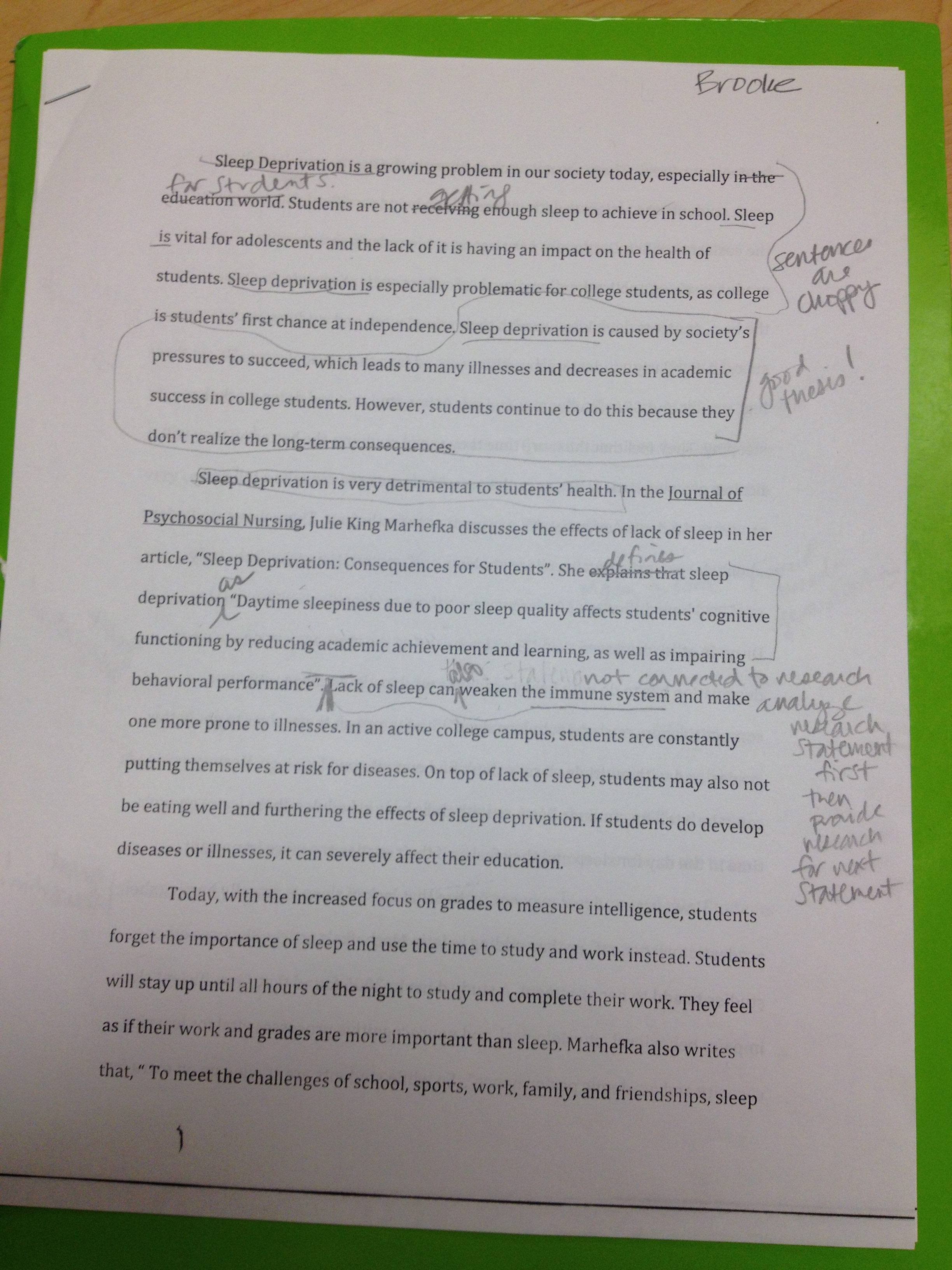 001 Essay Example Image Importance Of Breathtaking Sleep Pdf Spm Speech Full