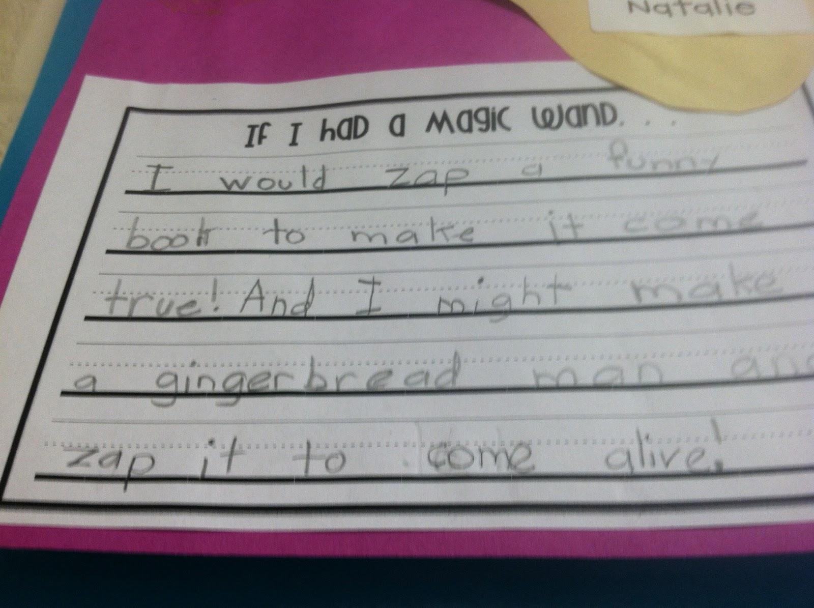 if i had a magic wand poem