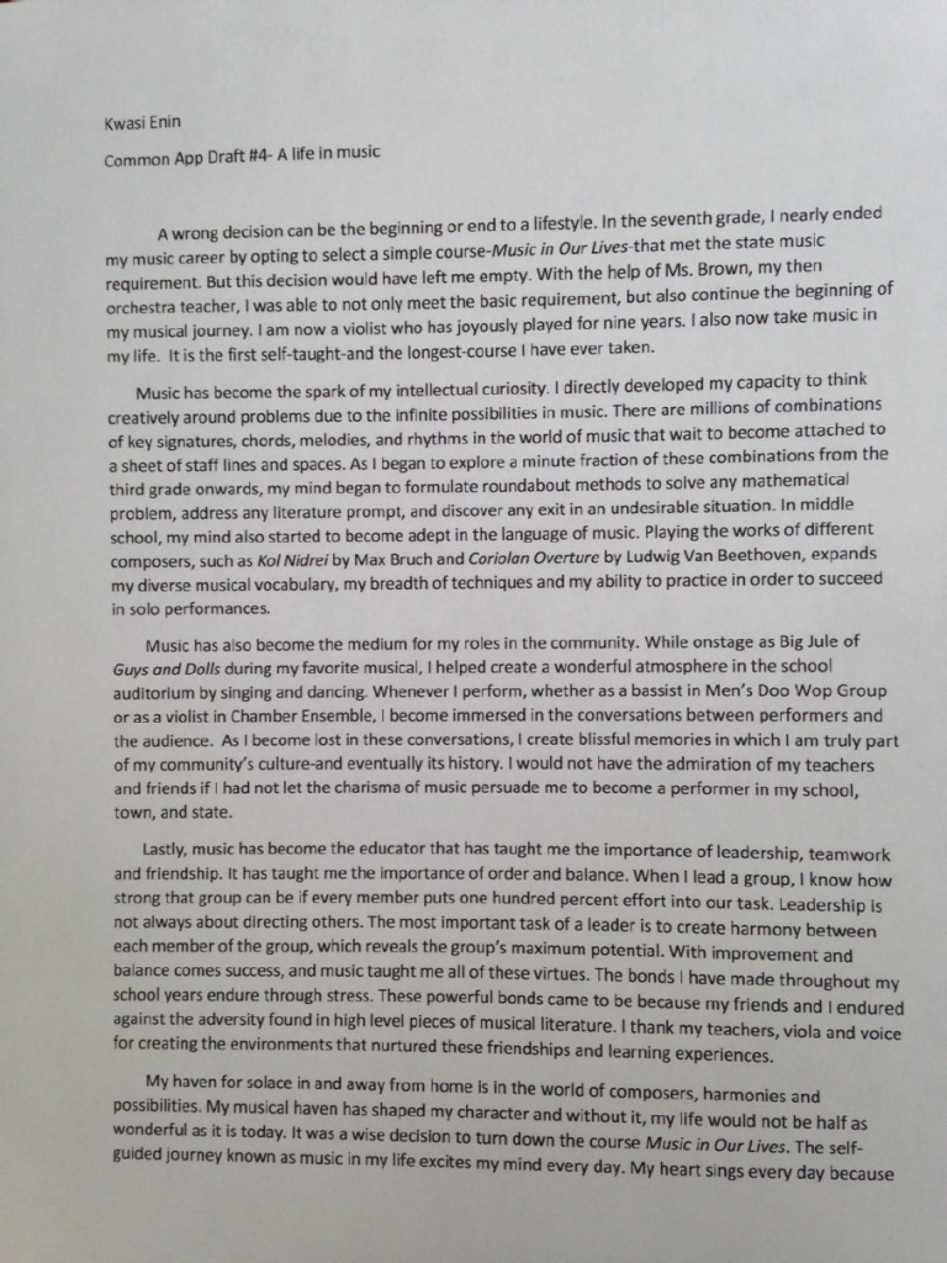 001 Essay Example Ivy League Essays Kwasi Enin Singular Tips Topics Help 1920