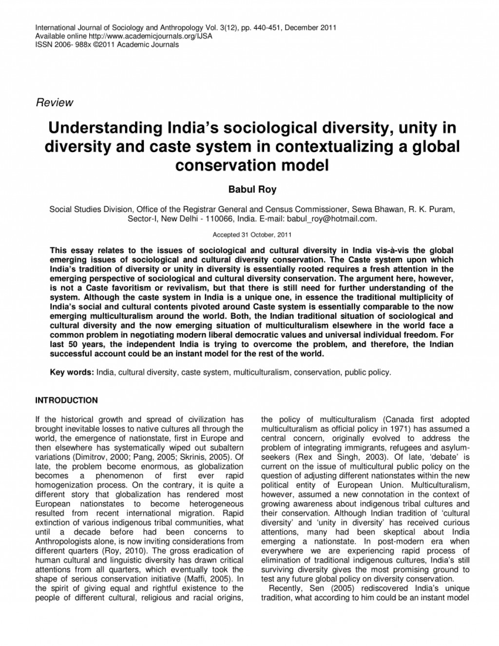 001 Essay Example Largepreview Unity In Diversity India Marvelous Pdf Large