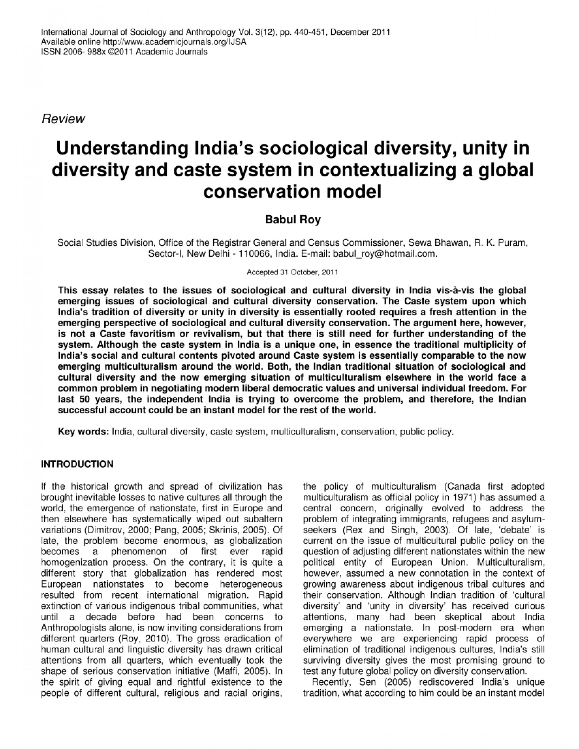 001 Essay Example Largepreview Unity In Diversity India Marvelous Pdf 1920