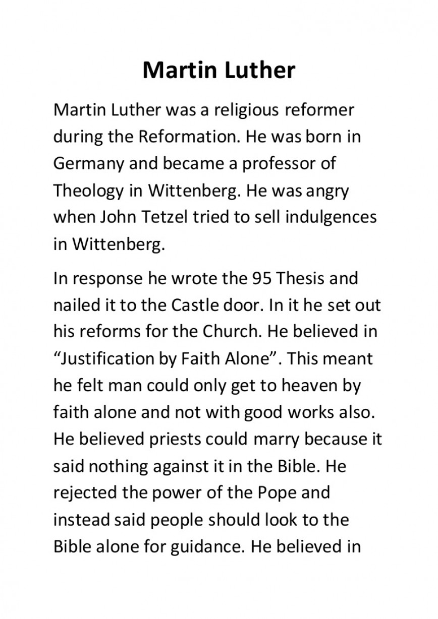 001 Essay Example Martinluther Conversion Gate02 Thumbnail Martin Luther Magnificent Reformation