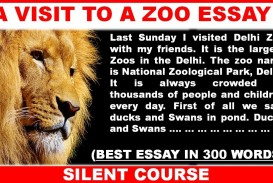 001 Essay Example Maxresdefault On Marvelous Zoo Zoos Are Good Short Zoology