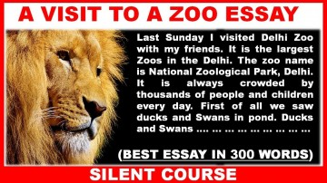 001 Essay Example Maxresdefault On Marvelous Zoo Visit To A For Class 10 Why Zoos Are Bad 360