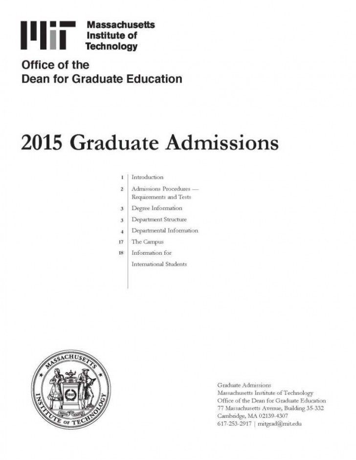 001 Essay Example Mit Application Essays Graduate Admissions Writing