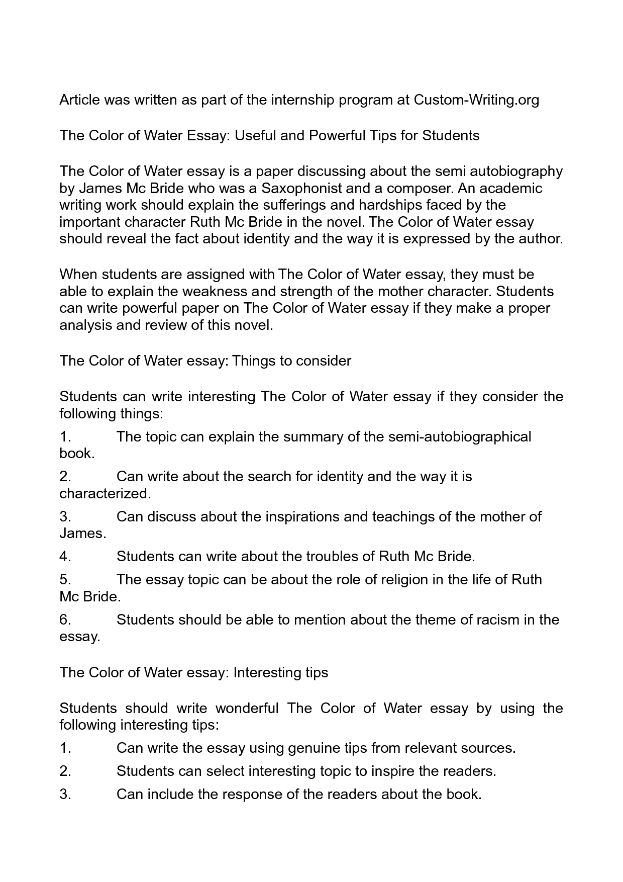 001 Essay Example On Water About Pollution Of For Students Unbelievable Writing Bottle Conservation Class 5 Cycle In English Full