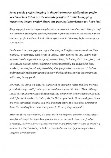 Most unusual shopping experience essay essay our indian festivals