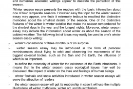 001 Essay Example P1 Phenomenal Winter In Hindi The Winter's Tale Topics Vacation Holiday
