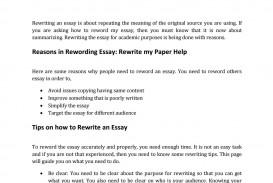 001 Essay Example Page 1 Amazing Reword Generator Free