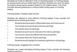 001 Essay Example Painting Unbelievable My Hobby In English Topics Analysis