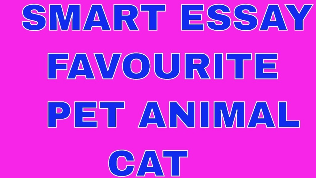 001 Essay Example Pet Animal Cat Dreaded My Favorite In English Tamil Large