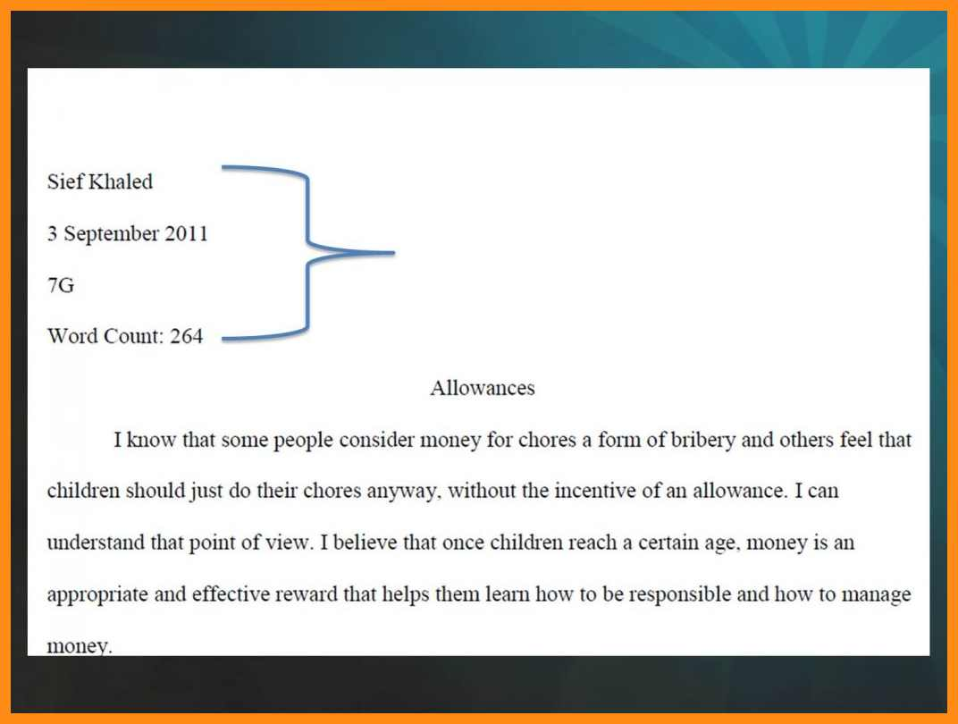 Proper cover page for college essay