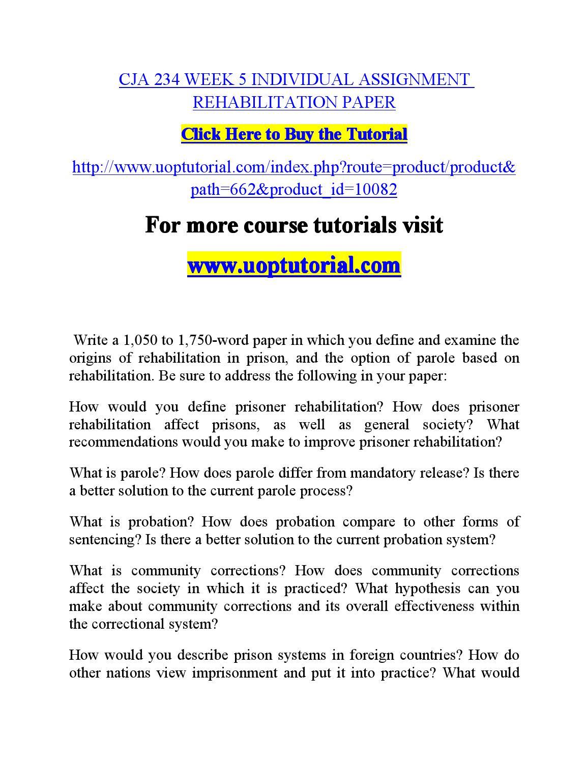 001 Essay Example Punishment Or Rehabilitation Page 1 Awesome Full