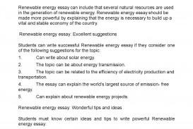001 Essay Example Renewable Energy Unbelievable Outline Upsc