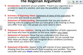 001 Essay Example Rogerian Shocking Topic Examples Argument Outline