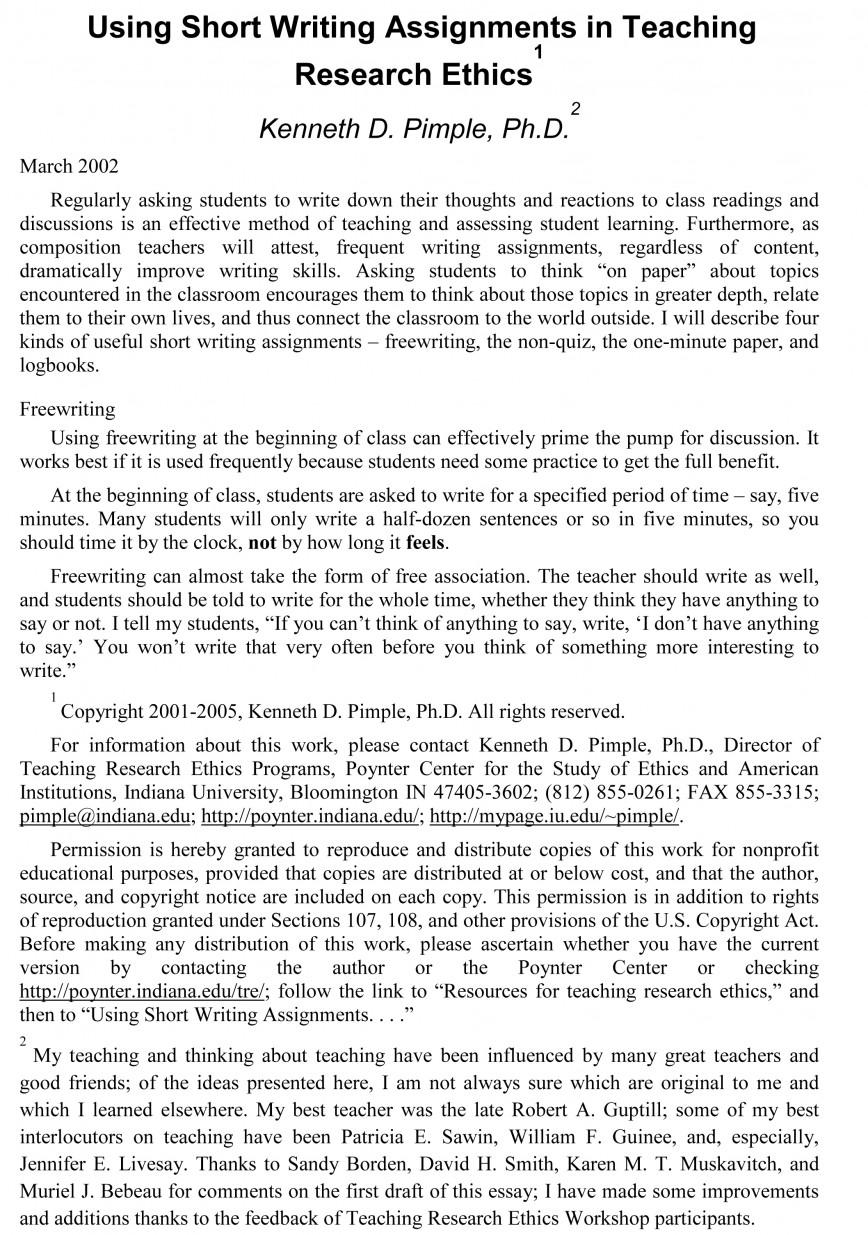 001 Essay Example Sample Teaching Essays On Stupendous Writing Bryant And Clark Pdf Books