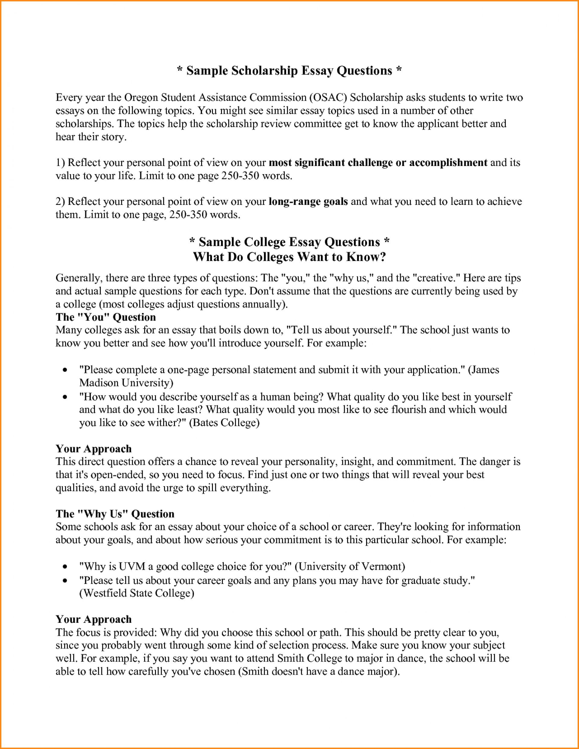 001 Essay Example Scholarship Prompts College Fix Ablez Topics List Magnificent Robertson 2018-19 Vanderbilt Washington And Lee Johnson 1920