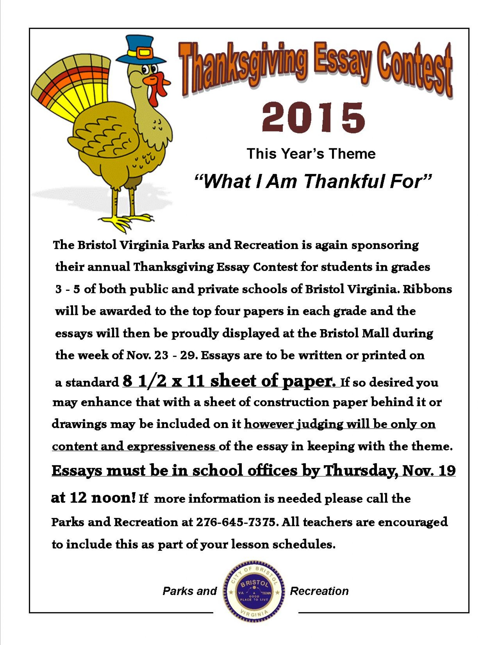 001 Essay Example Thanksgiving Fantastic In Spanish Writing For 3rd Grade Assignment 1920