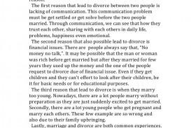 001 Essay Example Thereasonofdivorce Phpapp01 Thumbnail Unusual Divorce In Hindi Paper Outline Hook