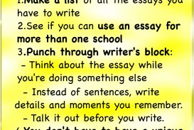 001 Essay Example Ways To Reduce Stress Tips For Writing College Application Fantastic Essays Best