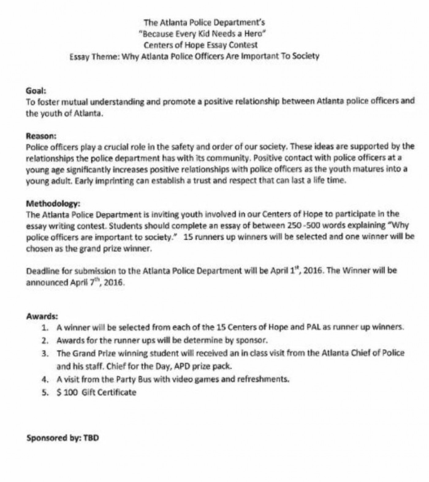 005 essay about community involvement example