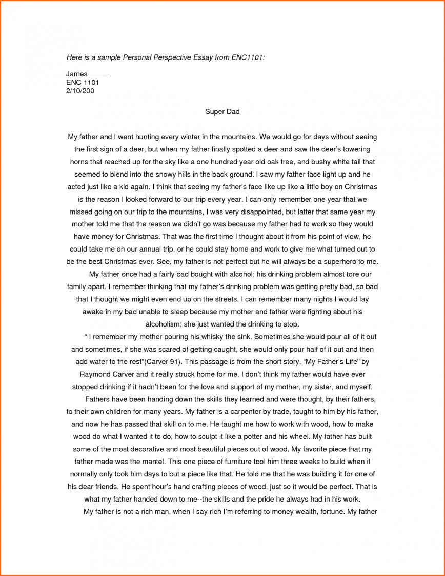 001 Essay Example Writing Personal Examples Of Essays For College Applications Excellent A Leaving Cert Grad School Scholarship