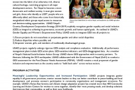 001 Essay On Gender Discrimination In Nepal Final Gesi Factsheet Page 1 2 Incredible