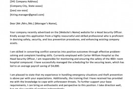001 Essay On My Experience In Company Example Security Guard Cover Letter Unbelievable