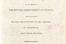 001 Essay On The Principle Of Population Singular Pdf By Thomas Malthus Main Idea
