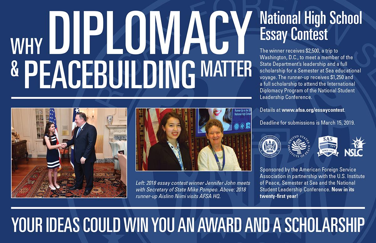 001 Essaycontestpostcard2018 National Peace Essay Contest Marvelous 2019 Full