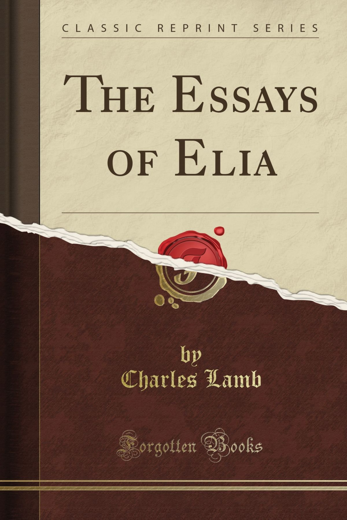 001 Essays Of Elia 811mpasxzwl Essay Striking Epub Summary Text Pdf Full