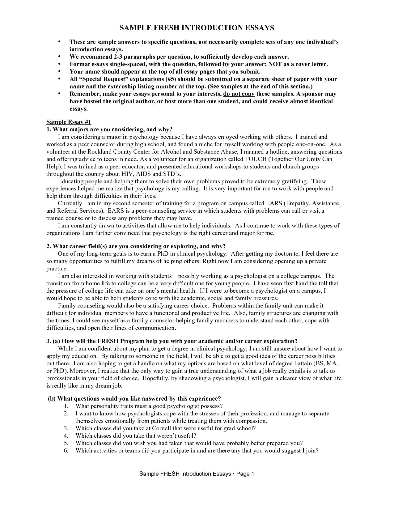 001 Example Of Essay Question And Answer Format 308612 ~ Thatsnotus