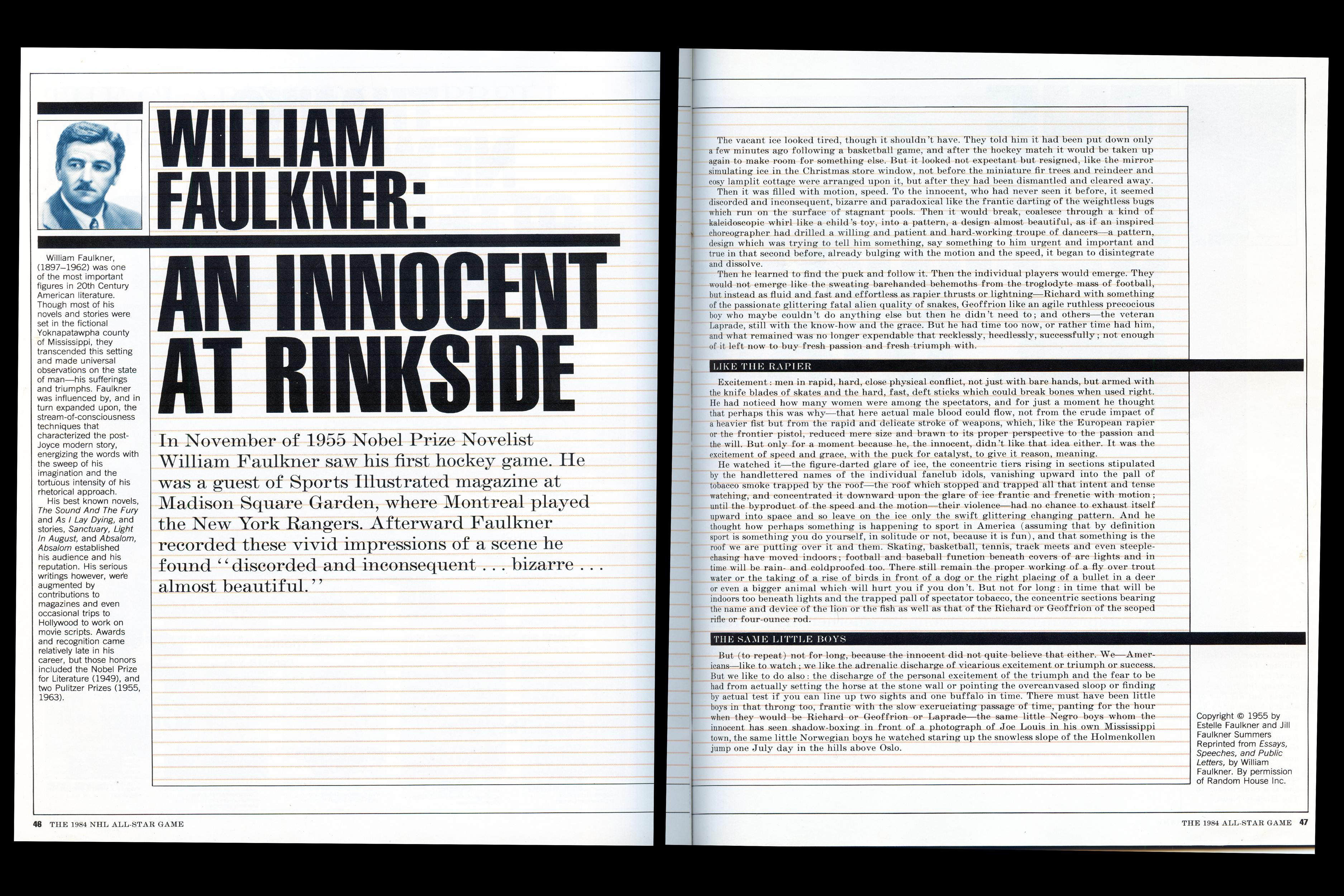 001 Faulkner60 William Faulkner Essays Essay Stunning Topics Full
