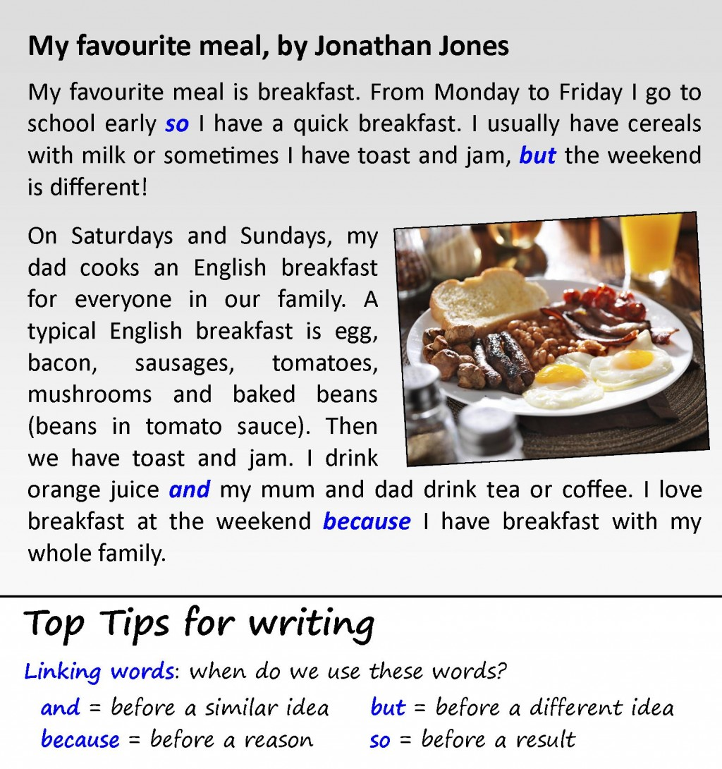 001 Favorite Food Essay My Favourite Meal Awful Ielts Sample Large
