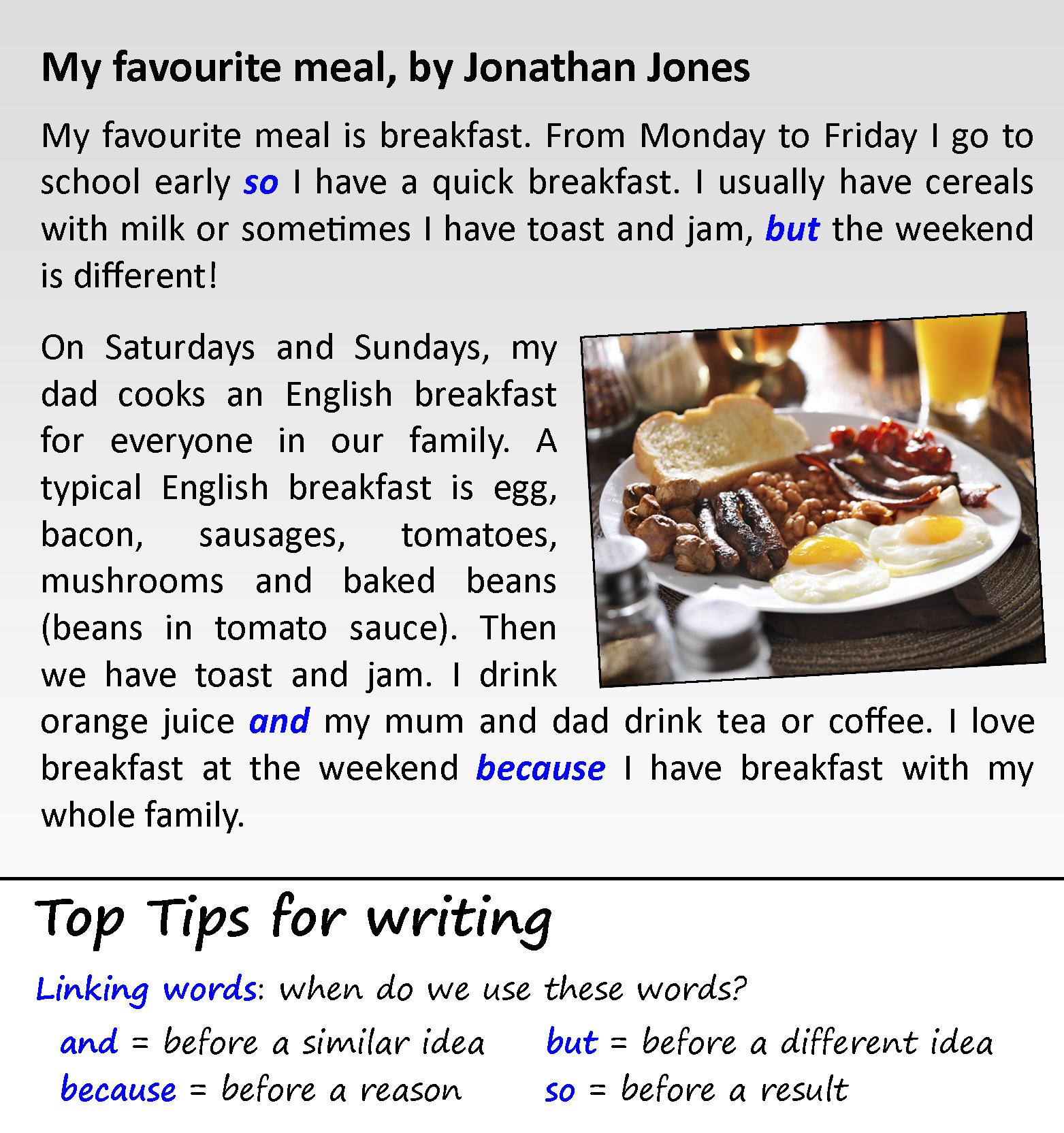 001 Favorite Food Essay My Favourite Meal Awful Ielts Sample Full