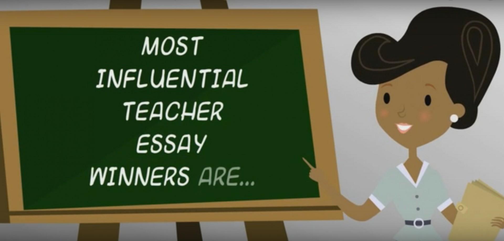 001 Fetterman Scholarship My Most Influential Teacher Essay Fascinating 1920