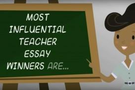 001 Fetterman Scholarship My Most Influential Teacher Essay Fascinating