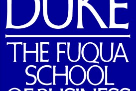 001 Fuqua Logo Rgb000099 Essay Example Duke Mba Archaicawful Essays Analysis Examples